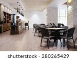 interior of a restaurant | Shutterstock . vector #280265429