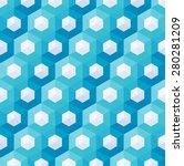 abstract hexagonal seamless... | Shutterstock .eps vector #280281209