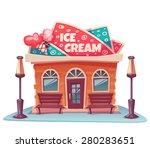 vector illustration of ice...   Shutterstock .eps vector #280283651