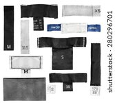 Set Of Blank Clothes Size...