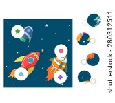educational game for children... | Shutterstock . vector #280312511