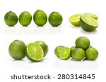 Composite With Green Lime...