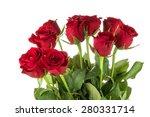 Stock photo  red roses arrangement 280331714