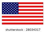 usa flag | Shutterstock . vector #28034317