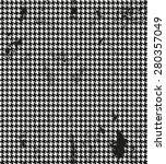 houndstooth  pied de poule... | Shutterstock .eps vector #280357049
