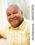 Small photo of Senior African American man