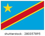 democratic republic of the... | Shutterstock .eps vector #280357895