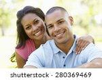 portrait of romantic young... | Shutterstock . vector #280369469