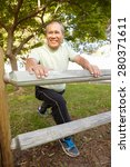 senior man exercising | Shutterstock . vector #280371611