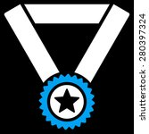 winner medal icon from... | Shutterstock .eps vector #280397324