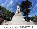 the manfredi lighthouse on... | Shutterstock . vector #280417517