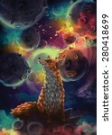 the little prince. the fox | Shutterstock . vector #280418699