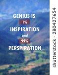 inspirational motivational life ... | Shutterstock . vector #280427654