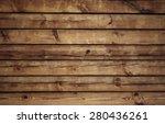 old wood texture  vector | Shutterstock .eps vector #280436261