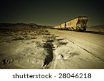 Retired Wagons In The Desert...