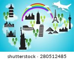 vector illustration of... | Shutterstock .eps vector #280512485