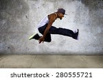 Black Urban Hip Hop Dancer...