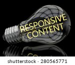 responsive content   lightbulb...