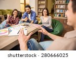 creative group of designers...   Shutterstock . vector #280666025