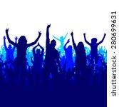 banner for sports championships ... | Shutterstock .eps vector #280699631