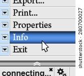 pixel texture of menu