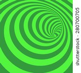 Green Spiral Striped Abstract...