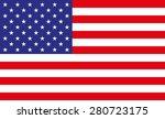 united states flag | Shutterstock .eps vector #280723175