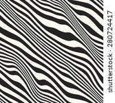 abstract crumpled striped... | Shutterstock .eps vector #280724417