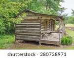 Old Log Cabin.