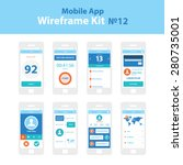 mobile app wireframe ui kit 12. ...