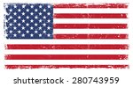 grunge usa flag.united states... | Shutterstock .eps vector #280743959