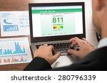 close up of a businessman...   Shutterstock . vector #280796339