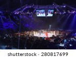 blurred boxing fight. abstract... | Shutterstock . vector #280817699