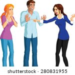 busted | Shutterstock .eps vector #280831955