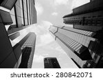 High Business Buildings In...