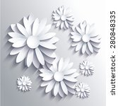 abstract background with white... | Shutterstock .eps vector #280848335