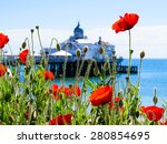 Eastbourne's Pier And Poppies...