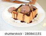 chocolate toast | Shutterstock . vector #280861151