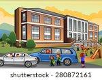 a vector illustration of ...   Shutterstock .eps vector #280872161