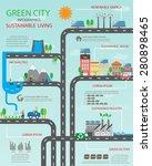 environment  ecology... | Shutterstock .eps vector #280898465