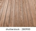 This is a detailed background shot of some wooden planks. - stock photo