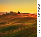 Tuscany  Rural Landscape In...
