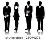 illustration of people and... | Shutterstock .eps vector #28094278