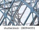 metal bridge | Shutterstock . vector #280944551