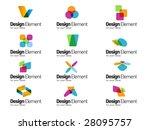 design elements   Shutterstock .eps vector #28095757