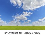 countryside nature background ... | Shutterstock . vector #280967009