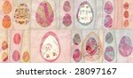 colorful easter eggs  can be... | Shutterstock . vector #28097167
