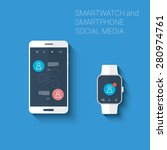 smartphone and smartwatch...