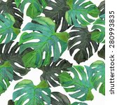 vector illustration of floral... | Shutterstock .eps vector #280993835