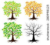 trees in different versions....